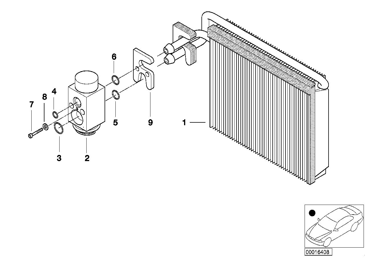 AM33 Evaporator / Expansion valve 64_0819