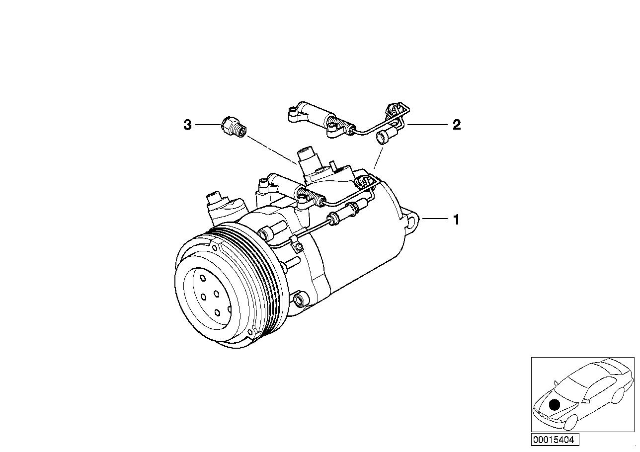 AM33 RP A/C compressor 64_1022