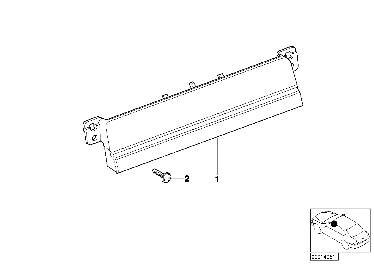 AM33 radio blind plate 65_0459