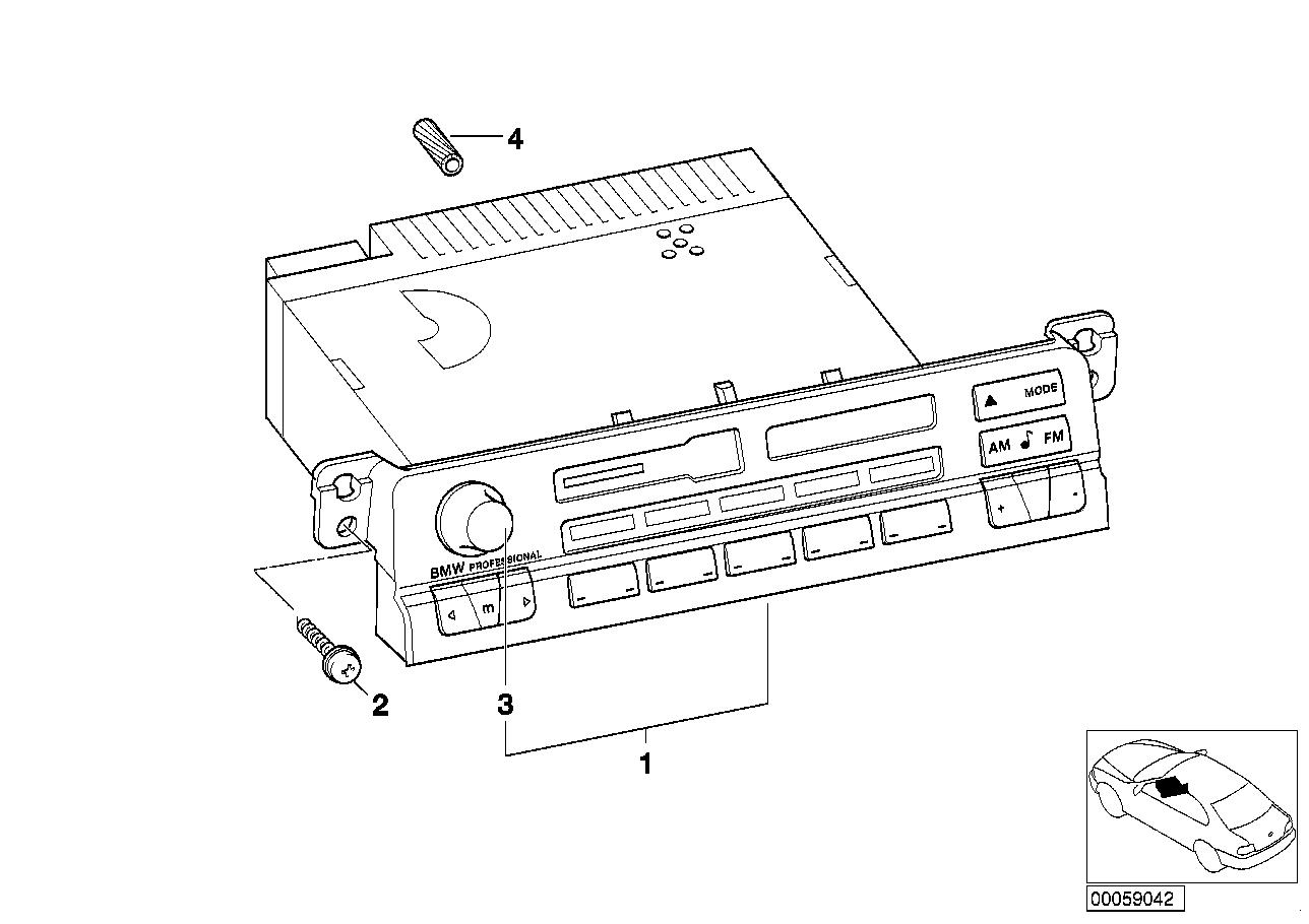 AM33 Radio BMW Professional 65_0463
