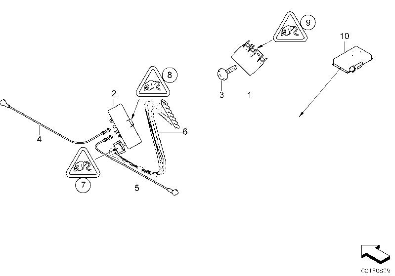 AM33 Single parts f antenna-diversity 65_0481