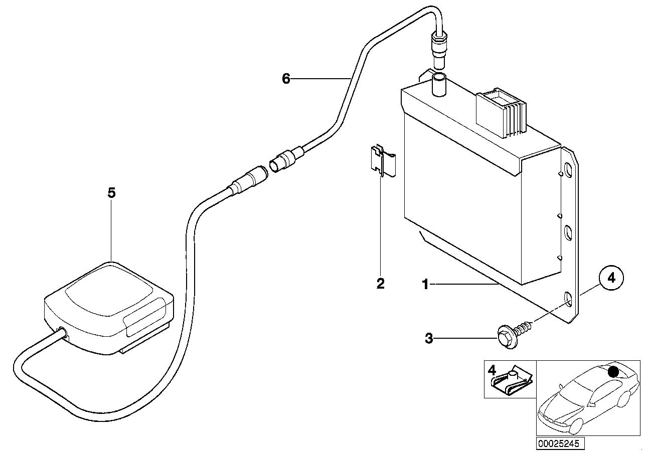 AM33 GPS receiver module/GPS antenna 65_0492