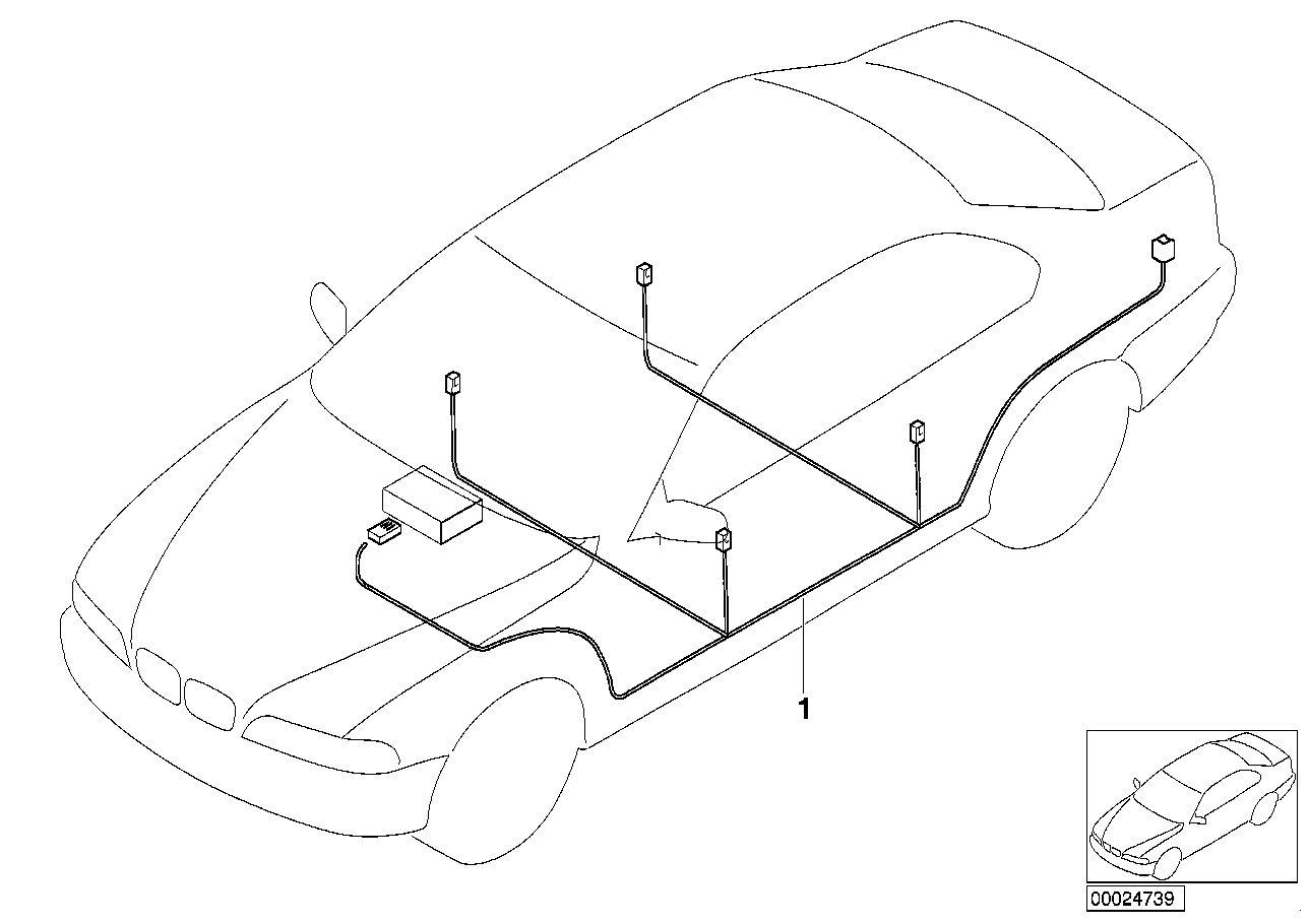 AM33 Audio wiring harness 65_0513