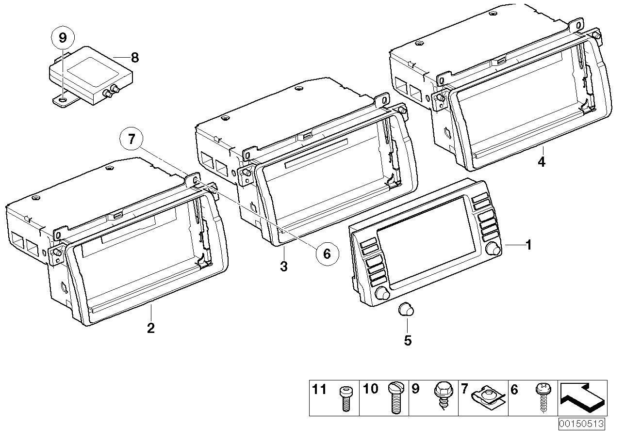 AM33 on board monitor / TV amplifier 65_1181