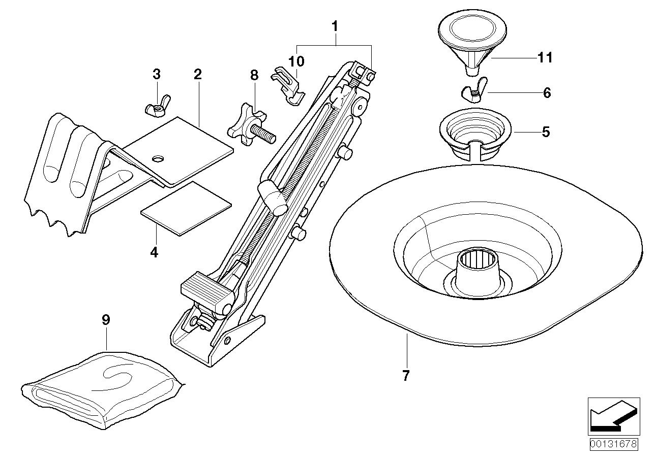 AM33 Car tool/Lifting jack 71_0183