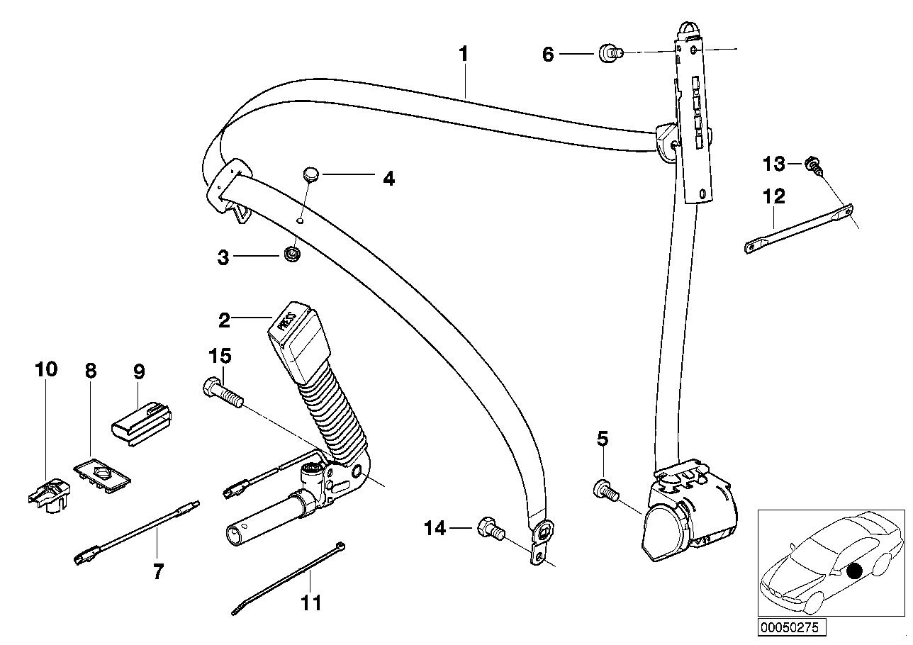 AM33 Safety belt front left 72_0300