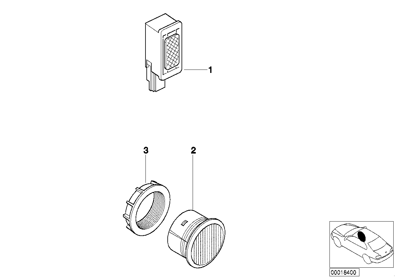 AM33 Single parts f hands-free facility 84_0021