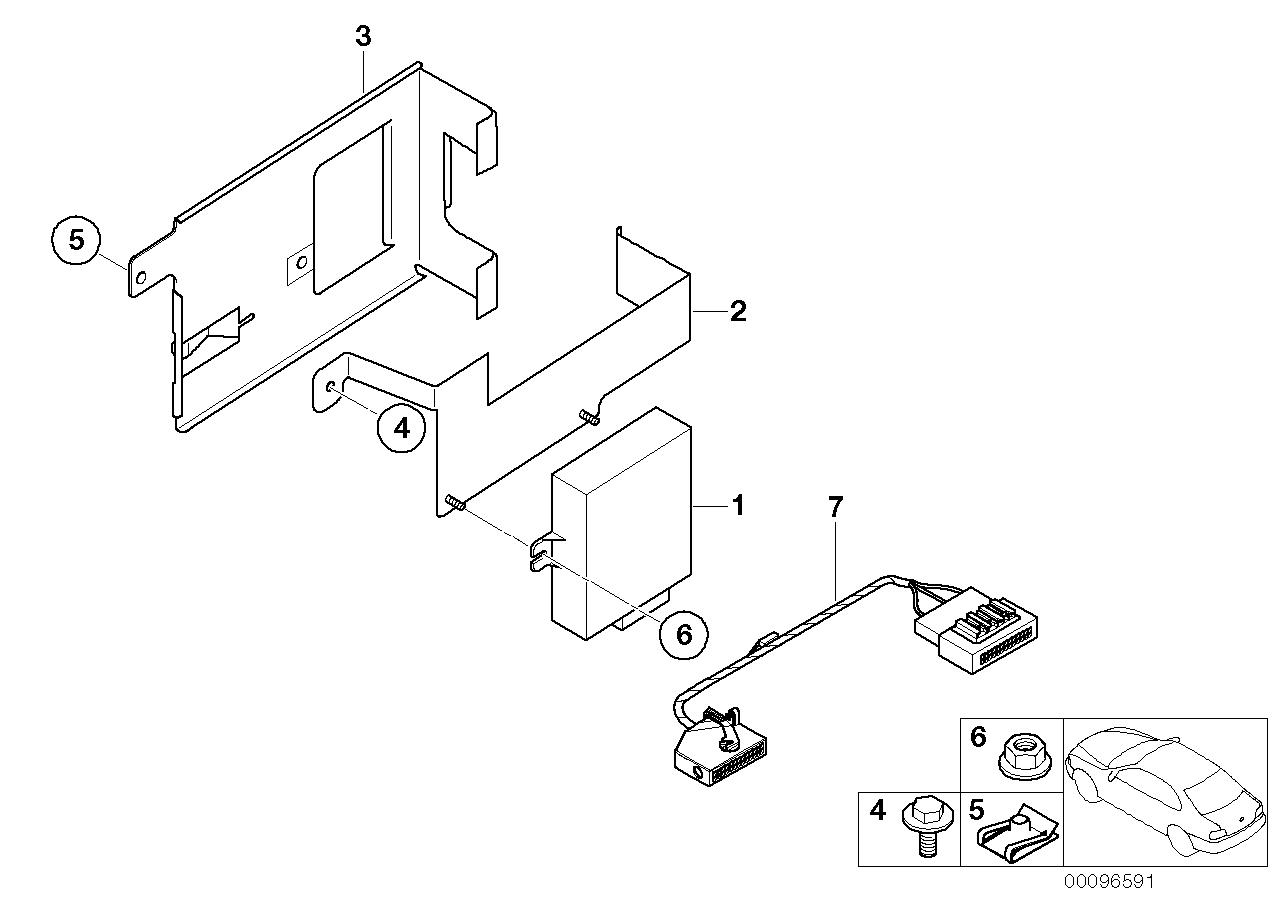 AM33 Single parts SA 620, trunk 84_0063
