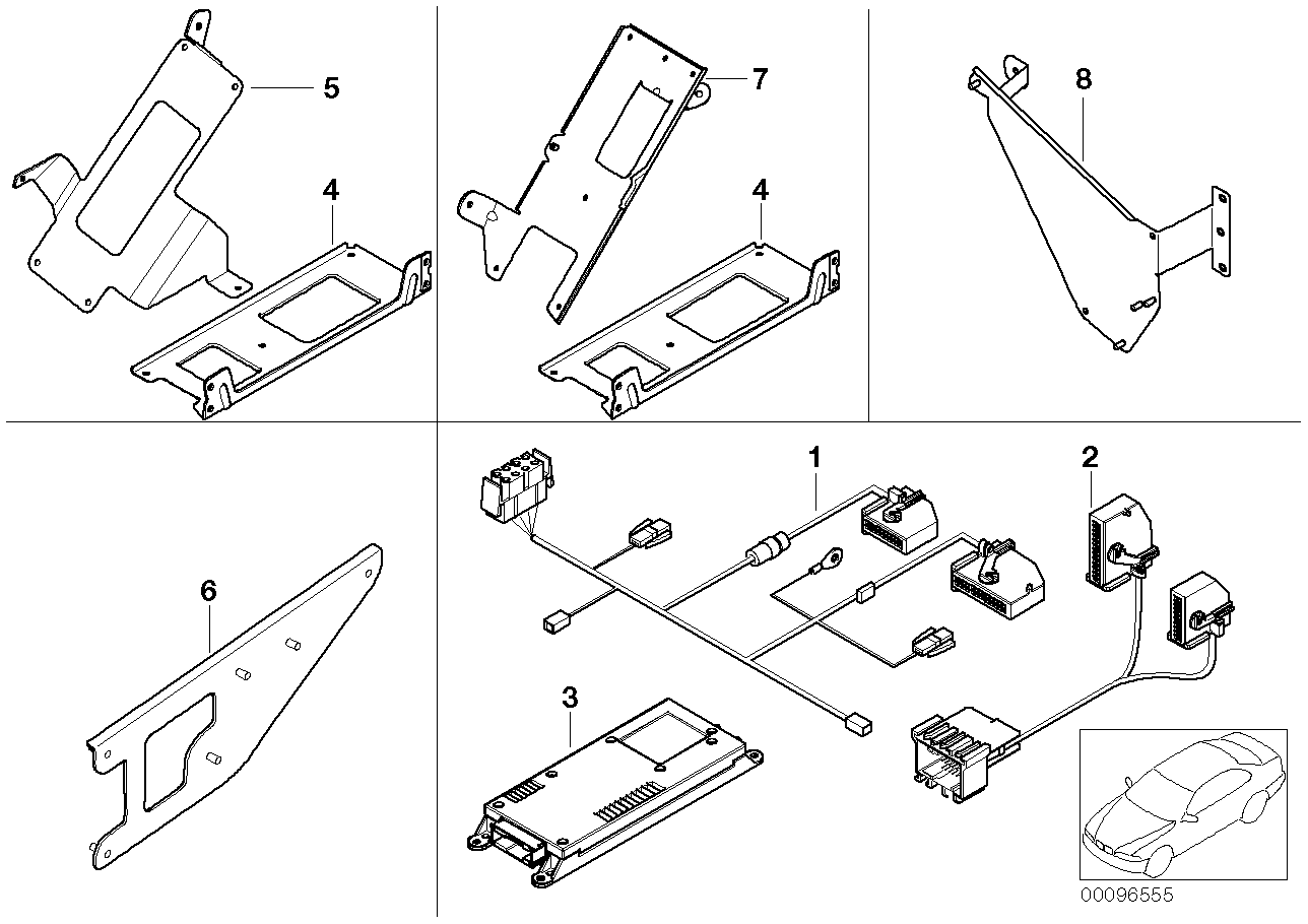 AM33 Single parts f Cordless lugga. compartm. 84_0416
