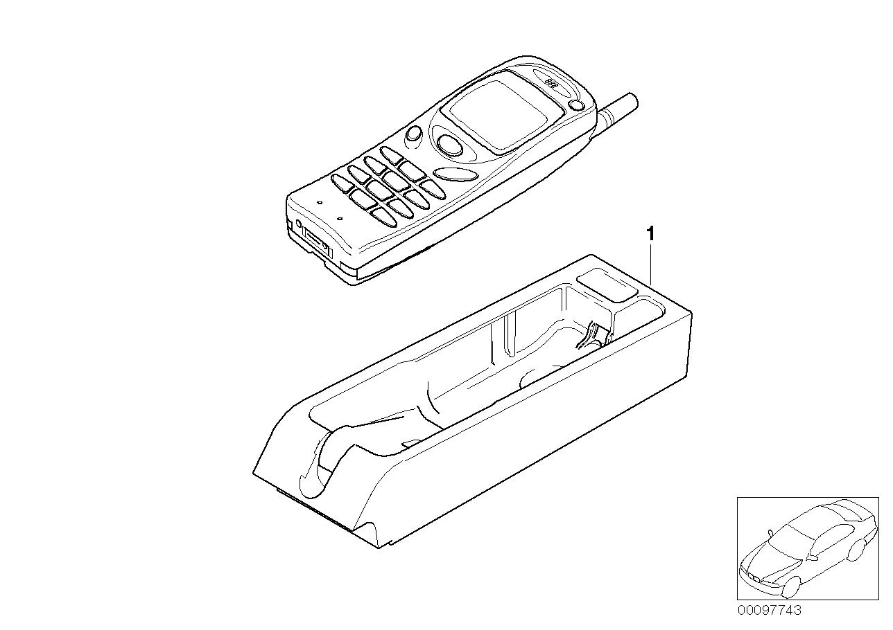 AM33 Single parts Nokia 3110 centre console 84_0433