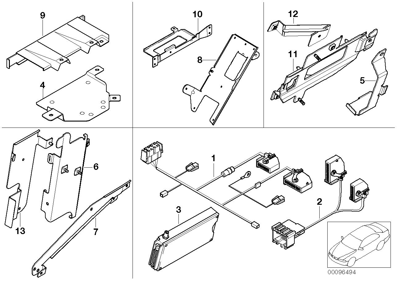 AM33 Single parts f Siemens S10 luggage comp. 84_0441