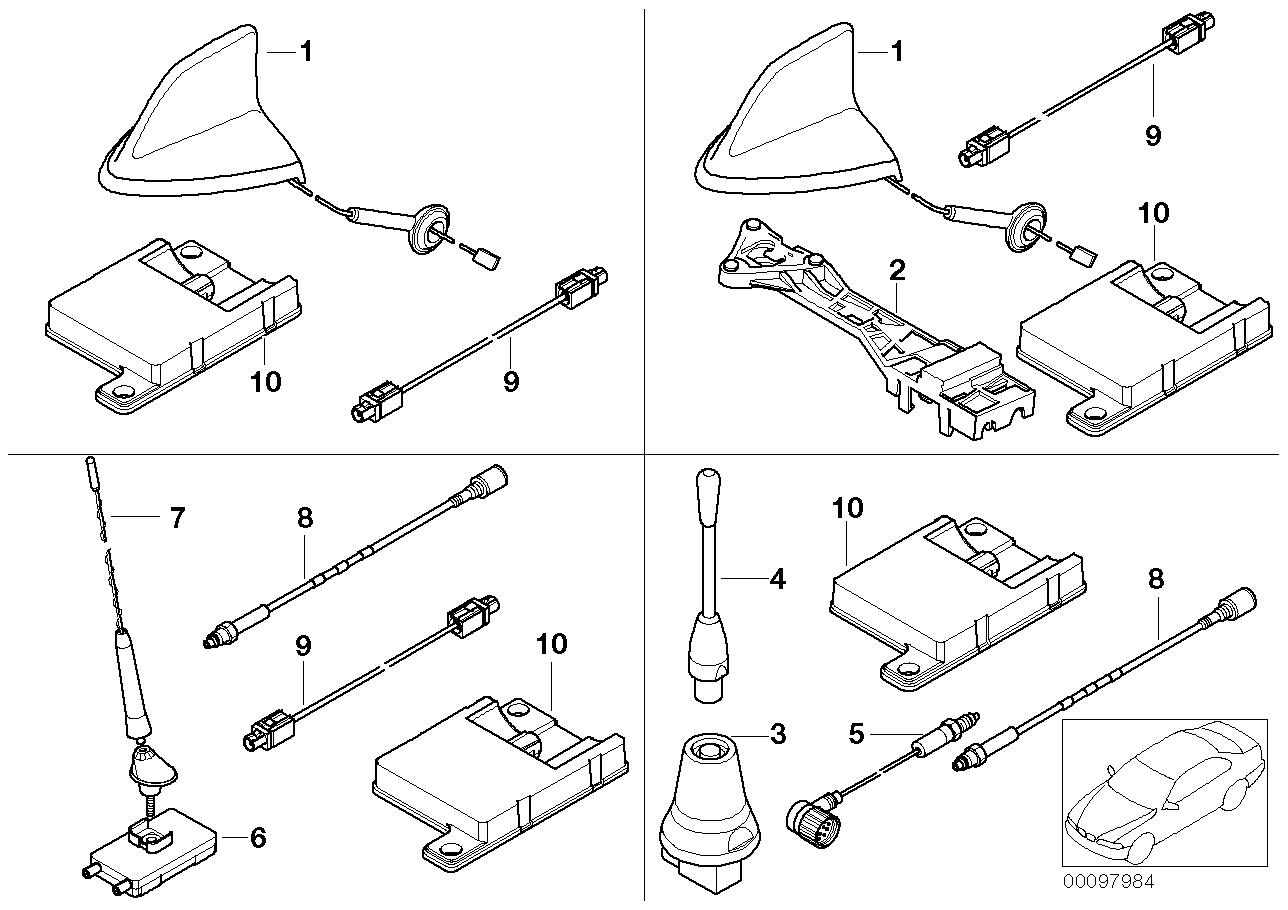 AM33 Single parts f Cordless teleph. antenna 84_0453