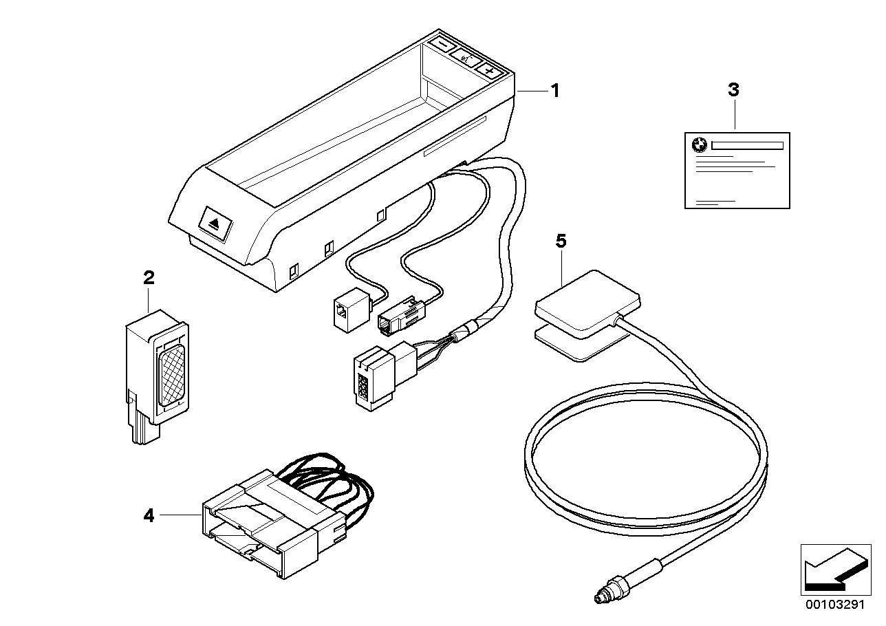 AM33 Single parts f Classic hands-free facil. 84_0464