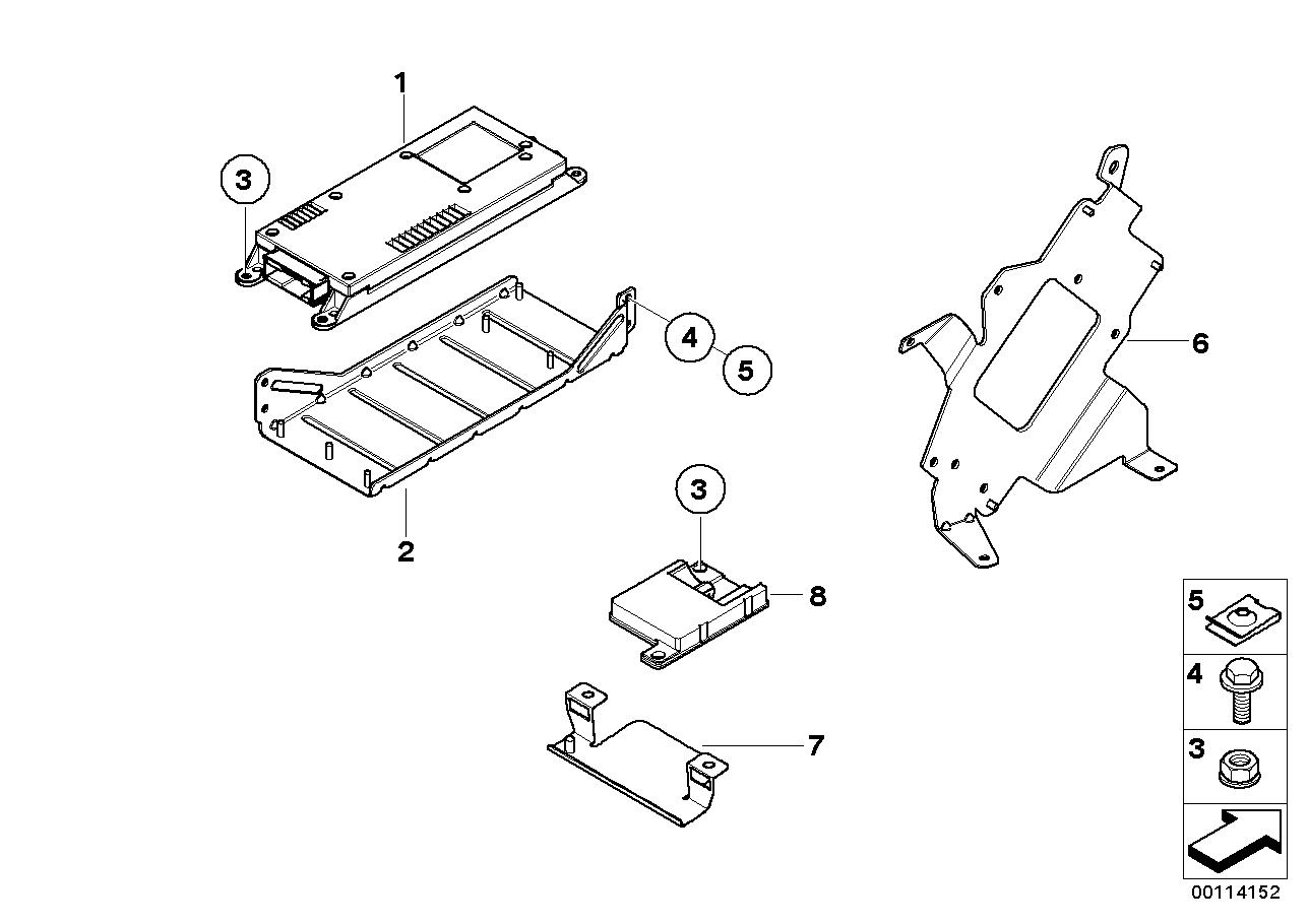 AM33 Component parts SA 639 / SA 640 trunk 84_0528