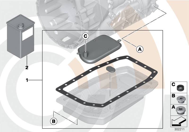 AM33 Fluid-change kit, autom. transmission 88_0066