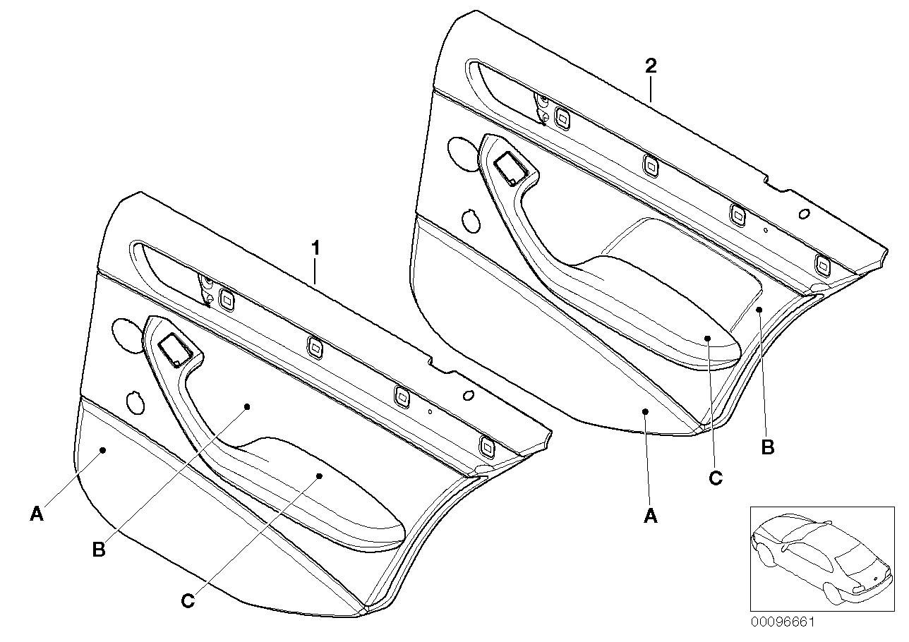AM33 Individ. rear door trim panel, Alcantara 91_0007
