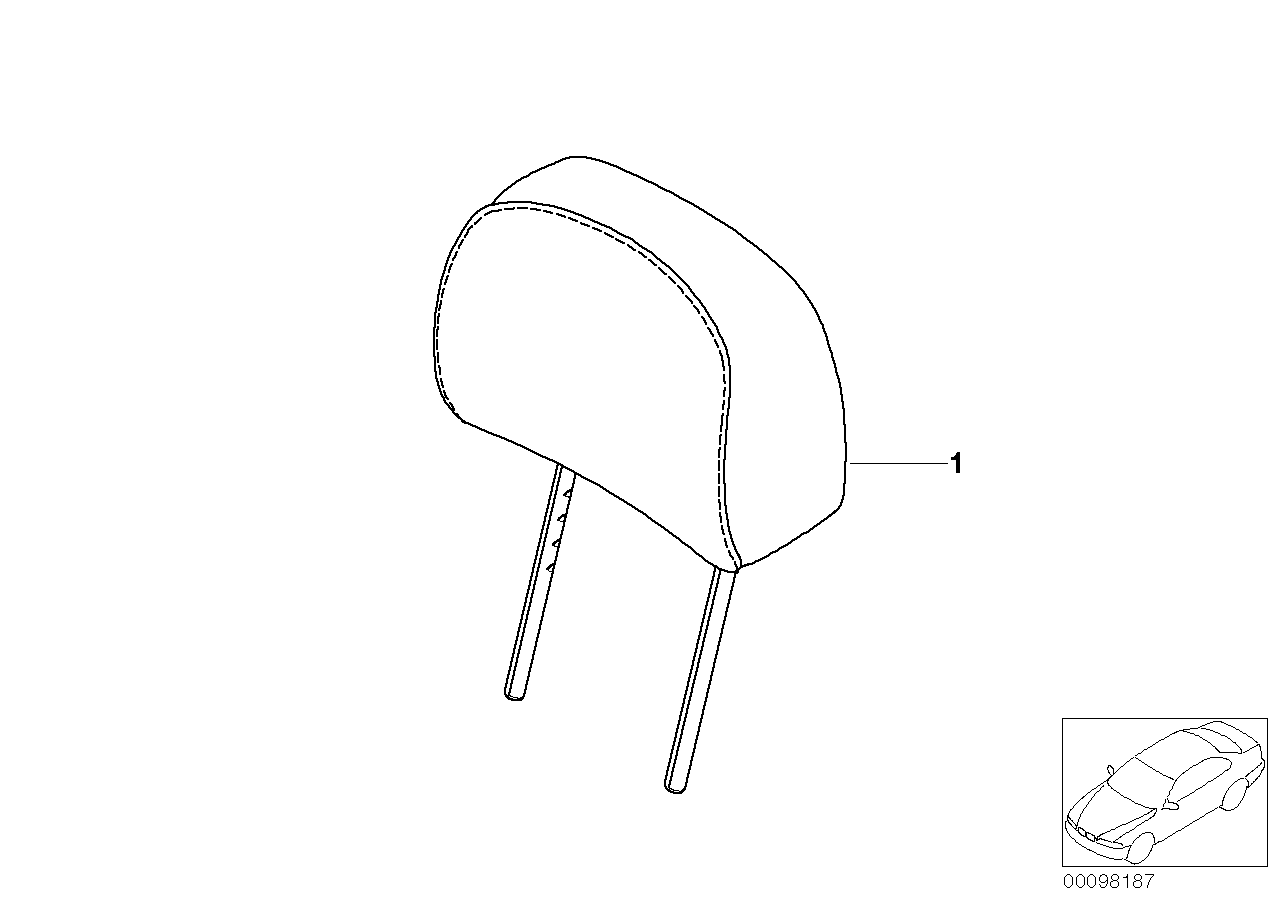 AM33 Indiv. headrest, standard seat,Alcantara 91_0022
