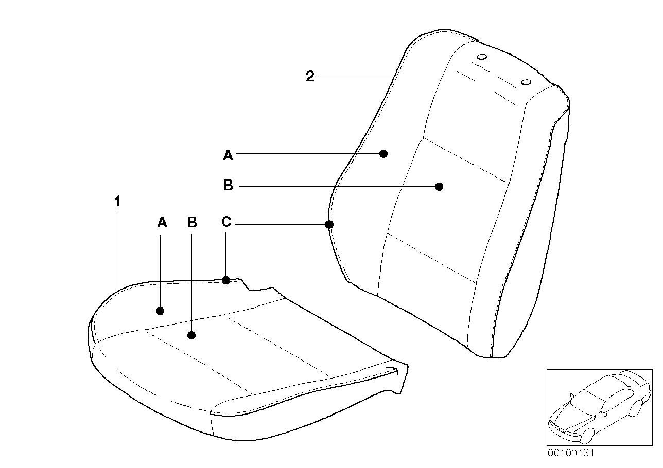 AM33 Indi. cover, base seat, Alcantara/Online 91_0023