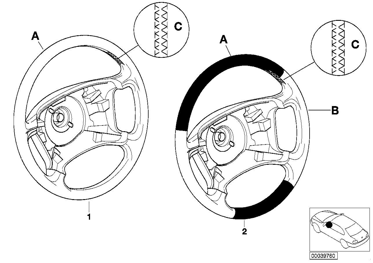AM33 Individual steering wheel SA 24 91_0083