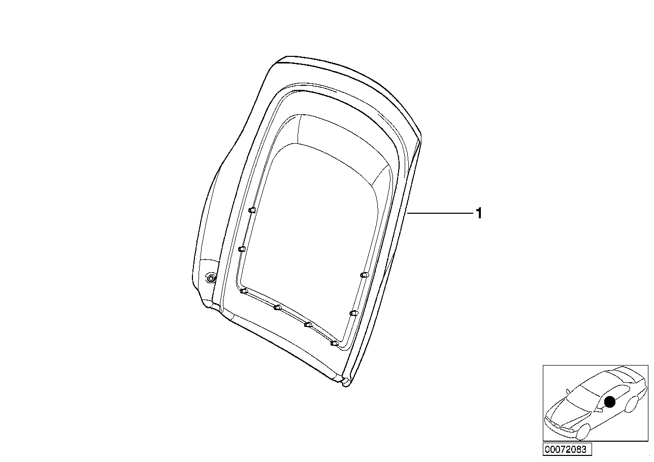 AM33 Indiv.rear panel,standard seat,leather 91_0312