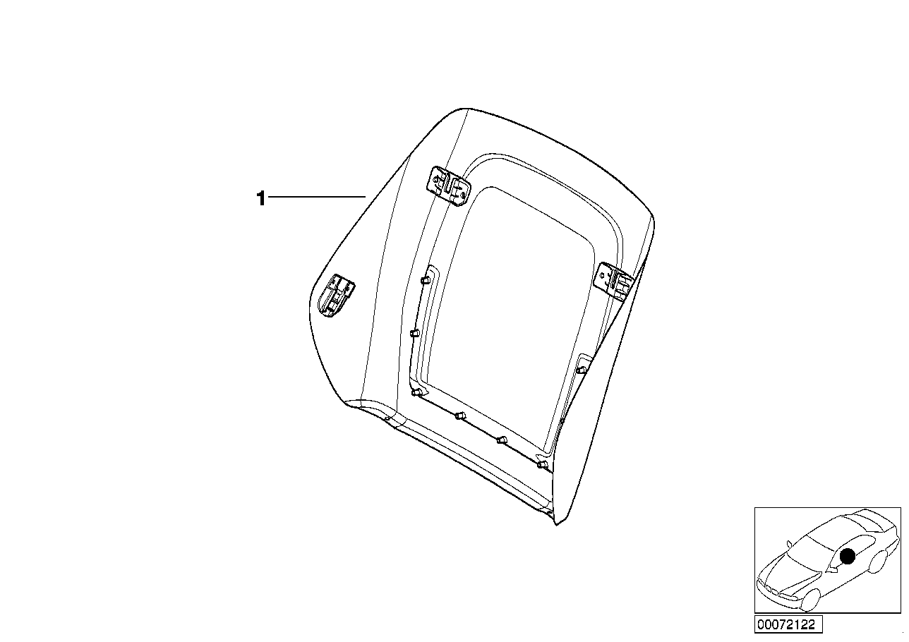 AM33 Indiv.rear panel, sports seat, leather 91_0365