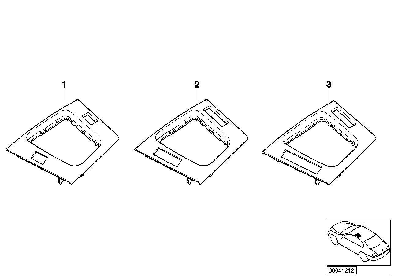 AM33 Individual floor oddments tray, primed 91_0448